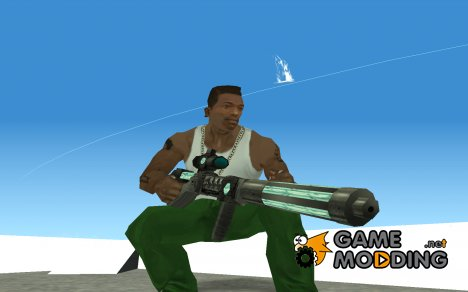 Пак инопланетного оружия for GTA San Andreas