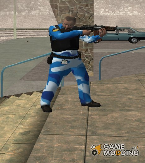 Русский охранник для GTA San Andreas