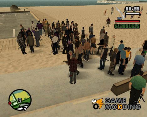 HD Скины для GTA San Andreas