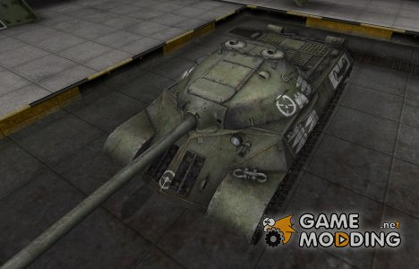 Зоны пробития контурные для ИС-3 для World of Tanks