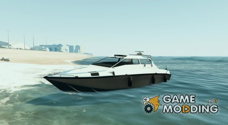 Bigger Suntrap boat for GTA 5