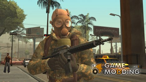 COD Black Ops Russian Spetznaz v3 for GTA San Andreas