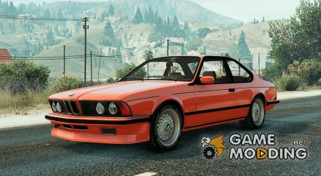 BMW M635 CSI E24 1986 for GTA 5