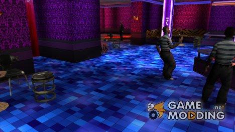 HQ интерьеры в клубах for GTA San Andreas