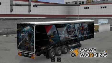 EA Trailer made by LazyMods для Euro Truck Simulator 2