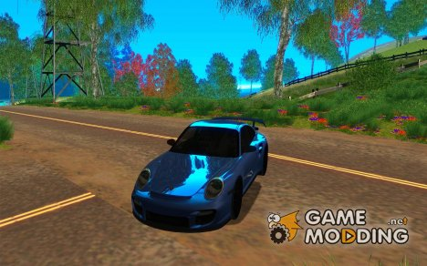 Porsche 911 GT2 (997) black edition for GTA San Andreas