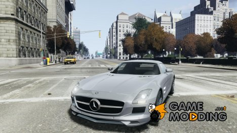 Mercedes-Benz SLS AMG 2010 for GTA 4
