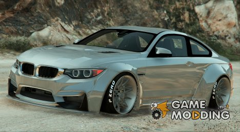 BMW M4 F82 LibertyWalk v1.1 for GTA 5