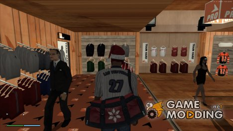 Современная сумка деда мороза for GTA San Andreas
