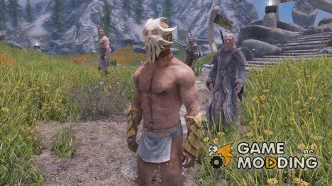 Dragonborn Cultist Armor Set Clothing Fix for TES V Skyrim