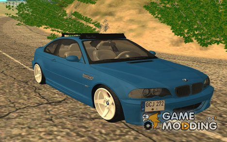 BMW M3 E46 Camo for GTA San Andreas