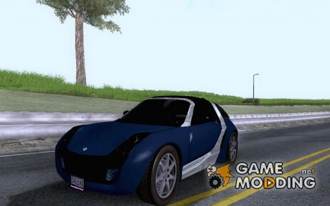 Smart Roadster Coupe for GTA San Andreas
