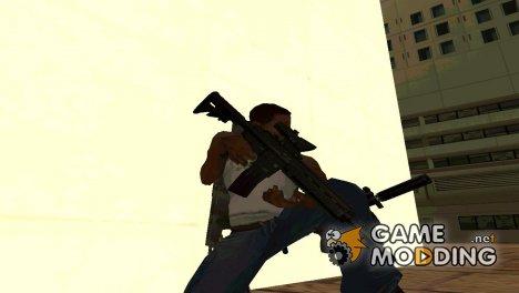 Пак оружие от Mistikill'a 6 HD for GTA San Andreas