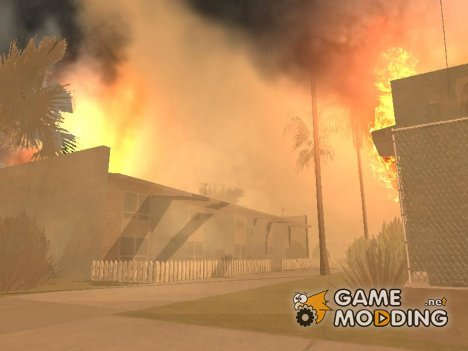 Quake mod [землетрясение] for GTA San Andreas
