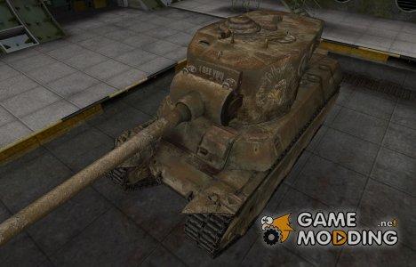 Исторический камуфляж M6A2E1 for World of Tanks