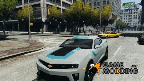 Chevrolet Camaro ZL1 2012 v1.2 для GTA 4