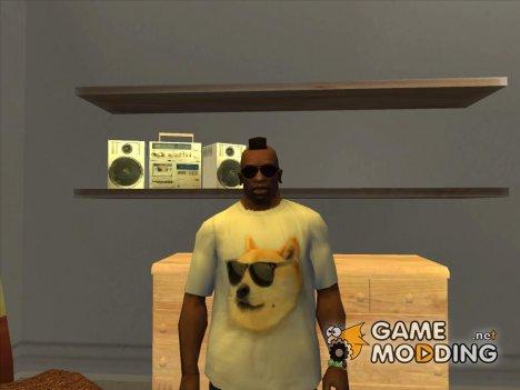 Футболка с Doge для GTA San Andreas