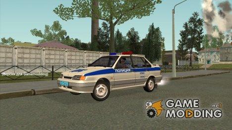 ВАЗ 2115 ДПС (Ретекстур) для GTA San Andreas