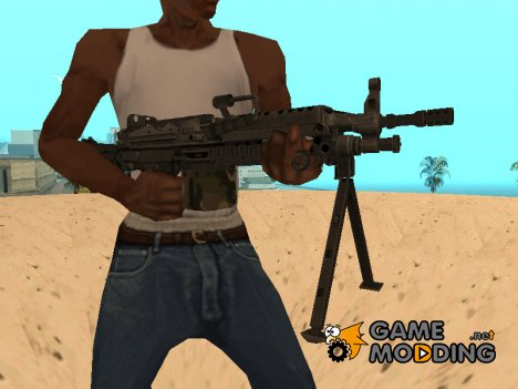 M249 Light Machine Gun для GTA San Andreas