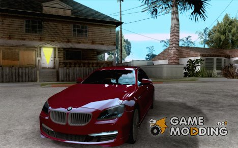 BMW 6 Series Gran Coupe 2013 для GTA San Andreas