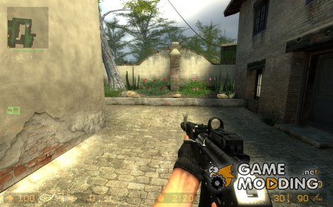 AK-74M Kobra Sight on Unkn0wn Animation for Counter-Strike Source