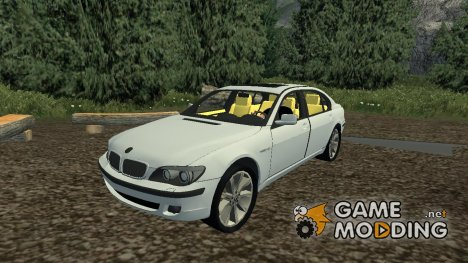 BMW 760 для Farming Simulator 2013