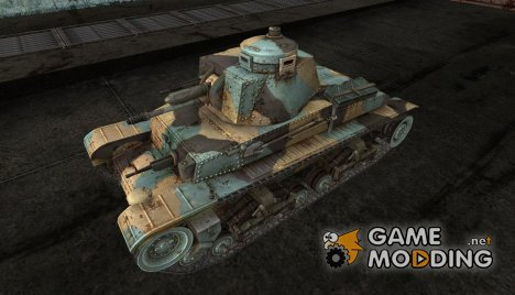 Цветные шкурки для PzKpfw 35(t) for World of Tanks