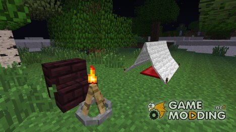 Camping Mod for Minecraft
