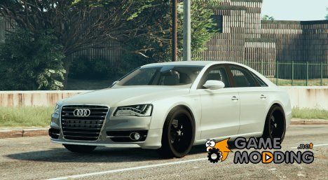 2013 Audi S8 4.0TFSI Quattro V1.8 for GTA 5