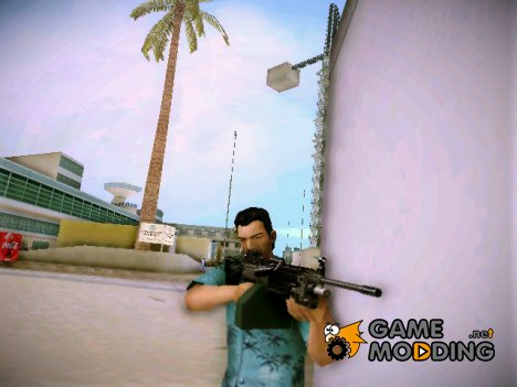 Advanced MG (M249 SAW) из TBOGT для GTA Vice City