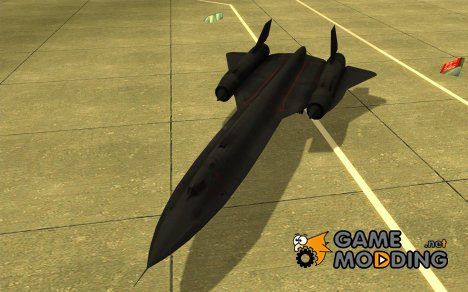 SR-71 Blackbird for GTA San Andreas