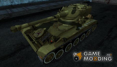 Шкурка для AMX 13 75 №3 for World of Tanks