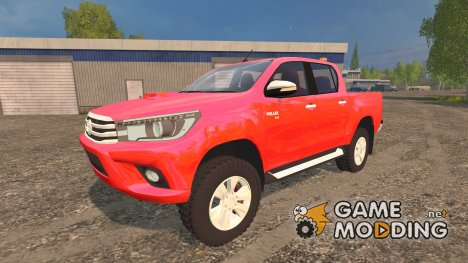 Toyota Hilux 2016 для Farming Simulator 2015