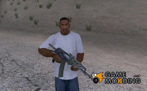 AK74 HD for GTA San Andreas