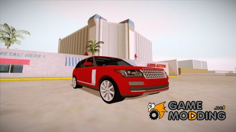 Range Rover Vogue 2014 V1.0 for GTA San Andreas
