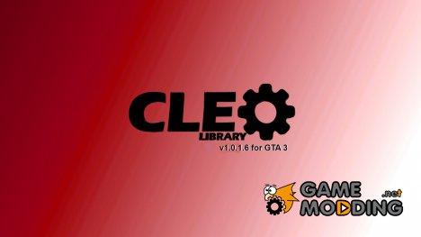 CLEO v1.0.1.6 для GTA 3