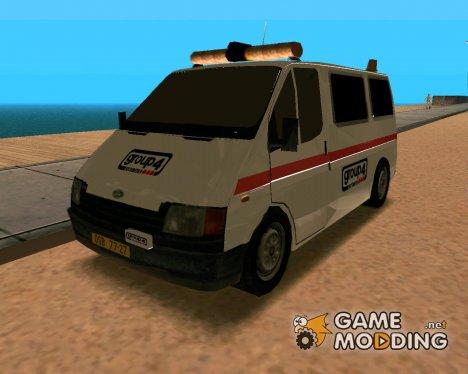 Ford Transit Security для GTA San Andreas