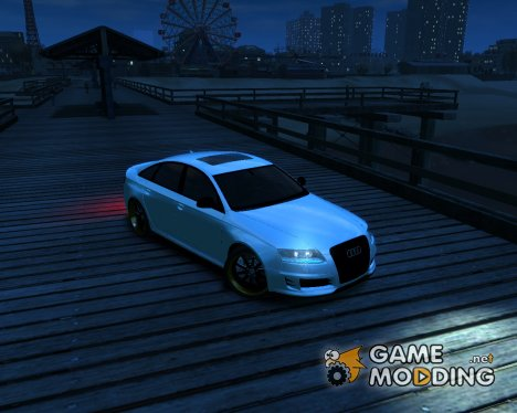 Audi RS6 2009 Light Tuning [Beta] для GTA 4