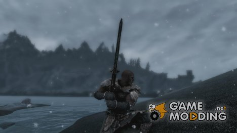 Bronze Greatsword -Standalone- 2 Versions для TES V Skyrim