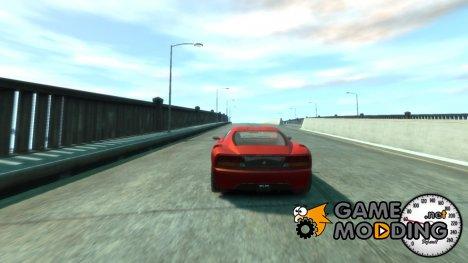 Speedometer v 1.0 для GTA 4