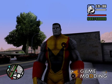 Colossus X-Men for GTA San Andreas