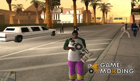 Dubstep Gun for GTA San Andreas