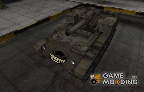 Забавный скин M41 for World of Tanks