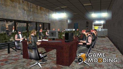 Мотоклуб в Криминальной России for GTA San Andreas