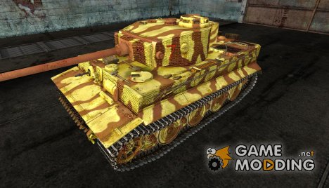 Шкурка для PzKpfw VI Tiger 506 Russia 1944 for World of Tanks