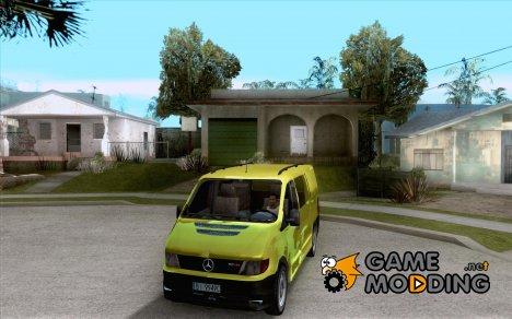 Mercedes-Benz Vito 112CDI для GTA San Andreas