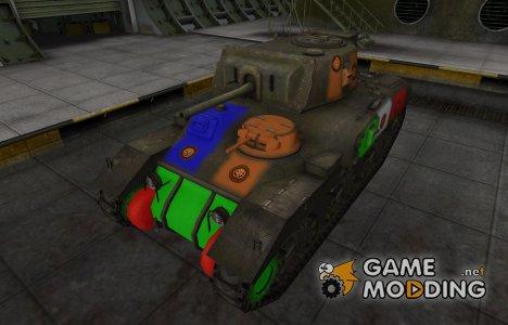 Качественный скин для Ram-II для World of Tanks