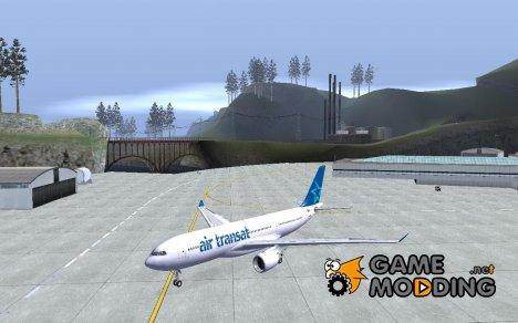 Airbus A330-200 Air Transat для GTA San Andreas