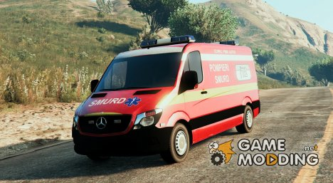 Mercedes Sprinter SMURD Romania для GTA 5