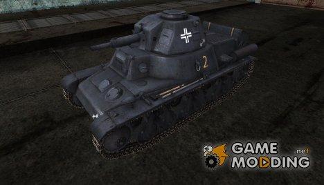 Шкурка для PzKpfw 38H 735(f) for World of Tanks